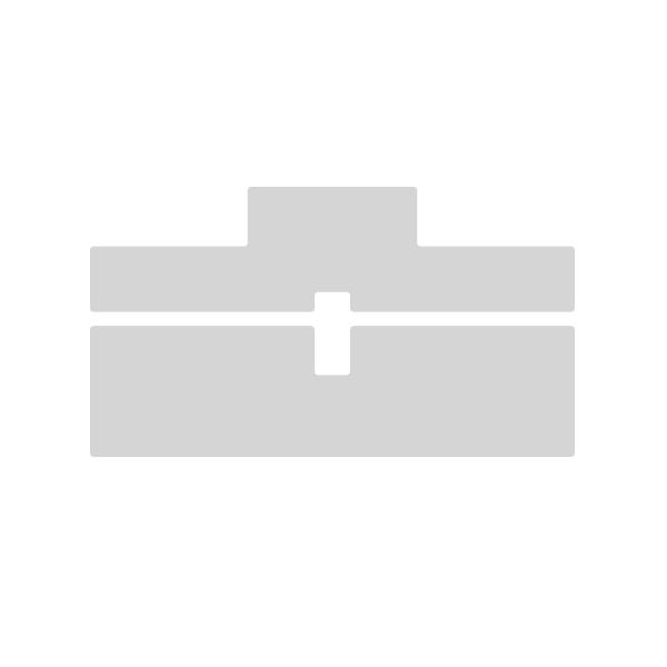 aluminium vierkante koker 40 x 40 online kopen limtrade. Black Bedroom Furniture Sets. Home Design Ideas
